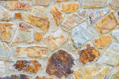 man made object: Stone wall texture background