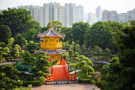 absolute: The pavilion of absolute perfection in the Nan Lian Garden