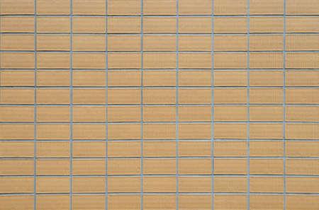 ceramic tiles: Yellow ceramic tiles wall background Stock Photo