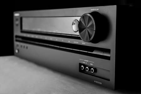 amplifier: Home-theater amplifier
