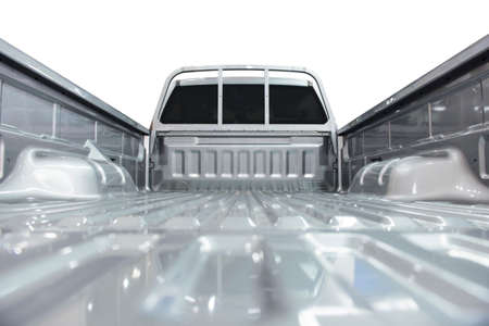 pickup truck: Pick-up caja de la camioneta