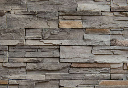 stone wall texture: Granite stone wall texture background Stock Photo