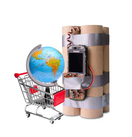 international crisis: Online market business problem