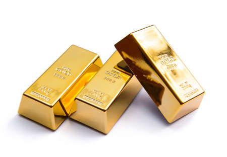 Luxury three gold ingot