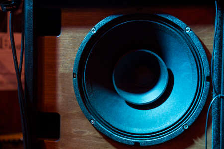 audio speakers used by musicians during concerts