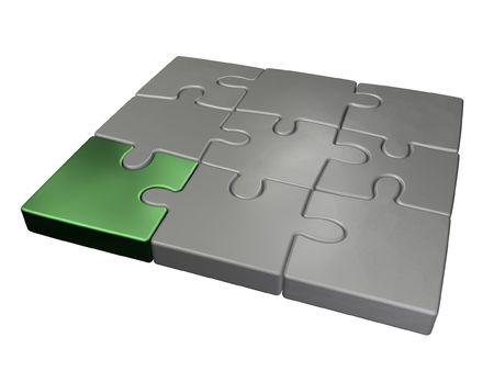 small jigsaw puzzle Stock Photo - 2514073