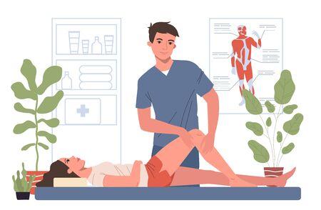 Massage therapist office