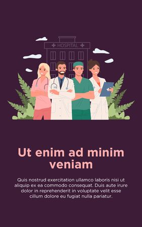 Clinic doctor team