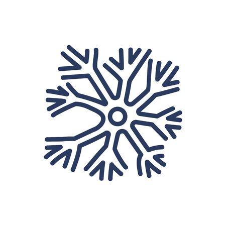 Neuron thin line icon