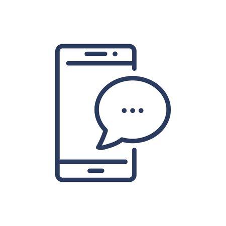 Messenger thin line icon