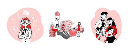 Medical support, cashback set