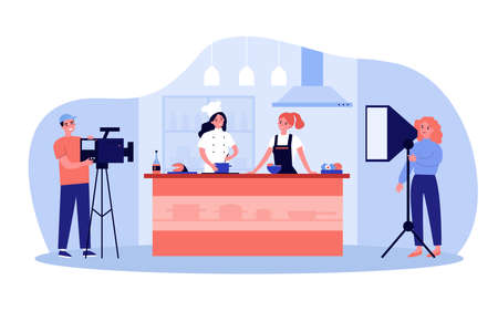 Popular cooking show concept
