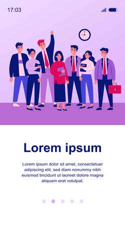 Happy business colleagues team portrait