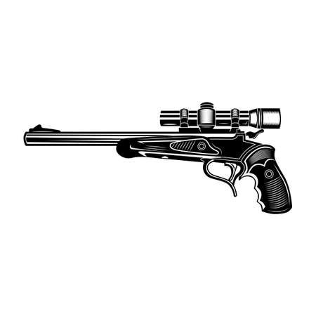 Sniper gun illustration