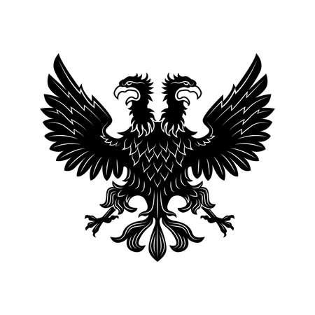 Double eagle vector illustration
