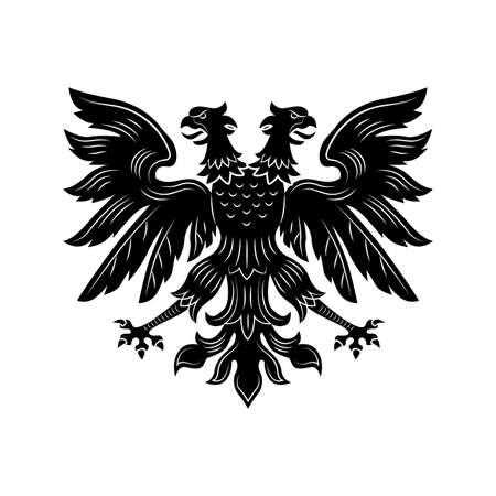 Severe double eagle vector illustration 矢量图像