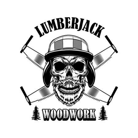 Woodsman vector illustration