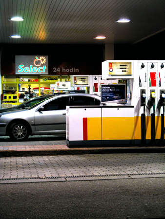 gas station pumps Stock Photo - 4137704