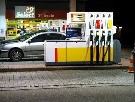 station service: Pompes � essence