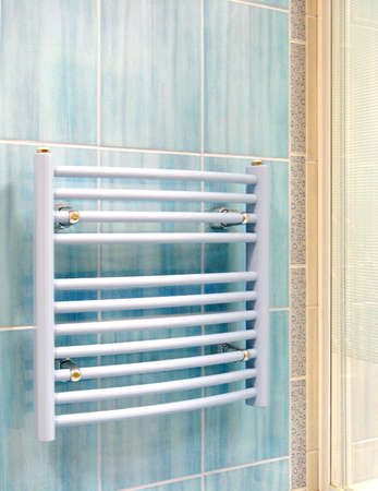 calorific: Interior of bathroom - heater