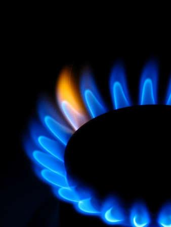 Gas stove photo