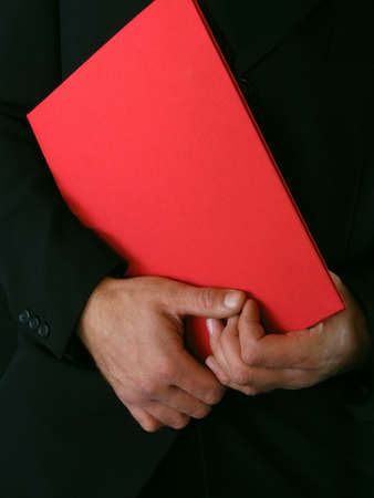 Diploma and hands photo