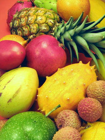 litschi: Tropical fruits and vegetables