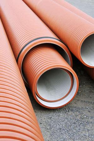 Plumbing tubes photo