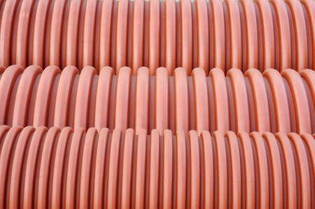 Plumbing tubes close-up   photo