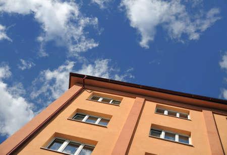 block of flats: Block of flats - apartment building Stock Photo