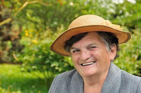 Senior woman - portrait photo