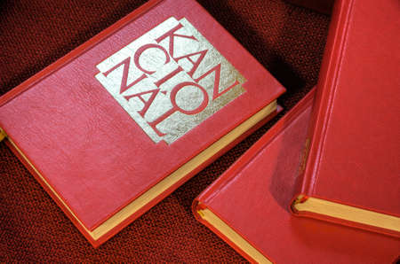 Hymnals and prayer books - detail