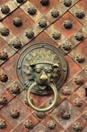 Chapel - detail of door Stock Photo - 7074008
