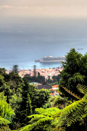 View from Monte Palace Tropical Garden– Funchal, Madeira Stock Photo - 7186152