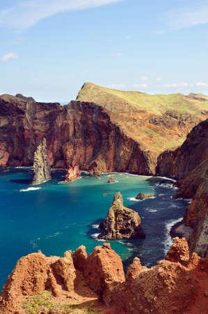 East  coast of Madeira island - Ponta de Sao Lourenco photo