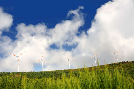 Eolic turbines - Paul de Serra, Madeira photo