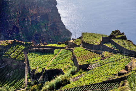 South coast of Madeira island - Portugal Stock Photo