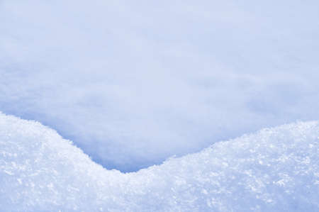 Detail of snowdrift  Stock Photo