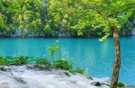 Plitvice Lakes National Park, Croatia photo