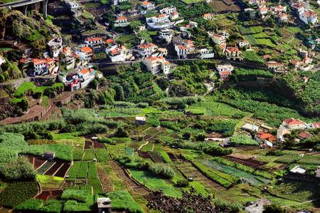 Village on the south coast of Madeira island - Portugal photo
