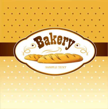 bagel: Bakkerij brood, stokbrood, gebakken goederen, croissant, cupcake, bagel labels, verpakking voor brood tarwe oor van tarwe