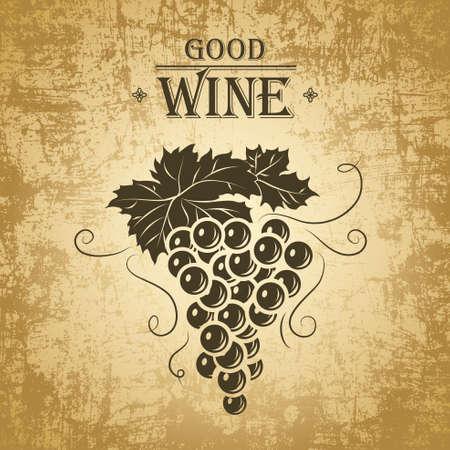 포도 와인 메뉴와 와인 라벨