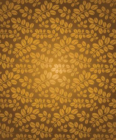 coffe tree: seamless coffee background  bean coffee   Illustration