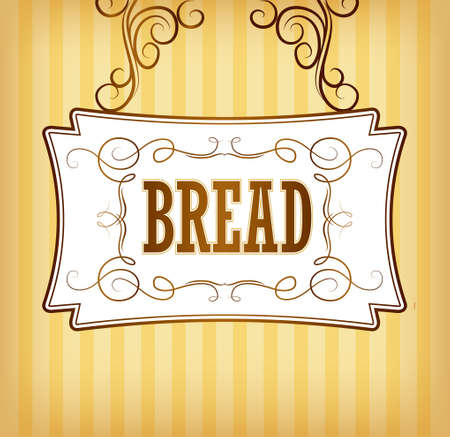 bread rolls: Bread  Bakery  loaf, baguette, baked goods, croissant, cupcake, bagel  labels, pack for bread wheat ear of wheat