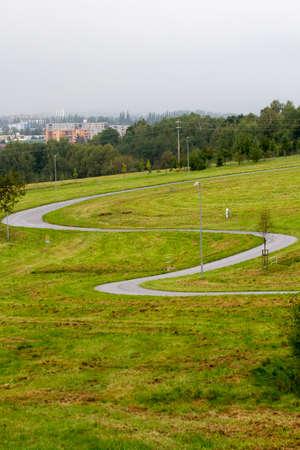 disc golf: paths