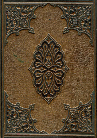 Old leather bound Bible photo