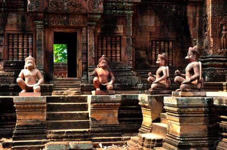 Banteay Srei Angkor Wat, Cambodia photo
