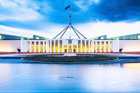 Parliament House Canberra Standard-Bild