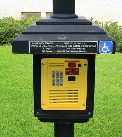 emergency call: Emergency Call Box