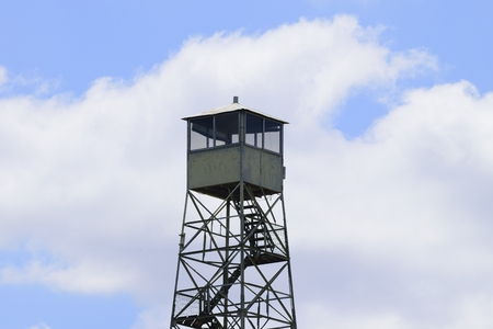 tucker: Fire watch tower at Tucker Hill Day Use Area in Florida.